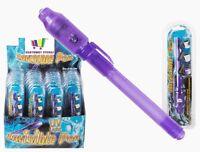 SECRET MESSAGE PEN INVISIBLE INK UV LIGHT NOVELTY KIDS GIFT TOY SPY HIDDEN