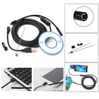 2M OTG Endoscope Waterproof Borescope Car/Engine/Tube Inspection Camera Android