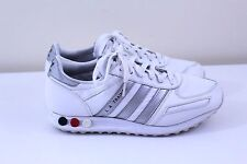 Vtg Adidas L.A. Trainer 80s Men Football White Sneaker Firebird US7 UK6.5 EU40