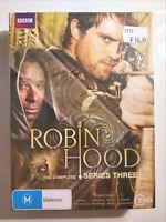Robin Hood : Series 3 (5 DVD Box Set) Region 4, Brand New & Sealed, FREE Post