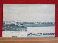 2-Bild-Karte - Liefering + Staufen bei Salzburg - gel 1907 - Kloster Missionare