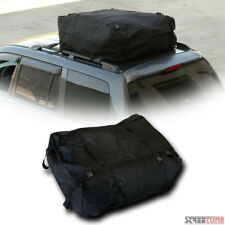 Blk Rainproof Roof Top Rack Cargo Carrier Bag Trunk Bed/Hitch Mount/Interior Si