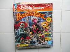 RARE Vintage 1985 Hasbro Jim Henson Muppets FRAGGLE ROCK Paint by Number SEALED
