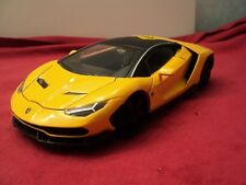 Jada 2018 Lamborghini Centenario 1/24  scale New no box 2018 release yellow