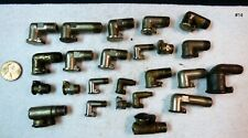 Vintage Gits Bros & Other Threaded Mixed lot Flip Top Oil Hole Cover #14