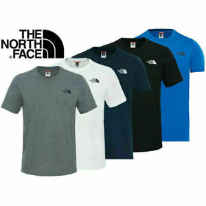 The North Face Simple Dome Mens Crew Neck Short Sleeve Cotton T Shirt Tee Top