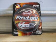 Berkley FireLine 20 lb 125 yards smoke Nib