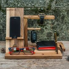 """Handmade Stand out for the phone tree """"Male organizer"""".Office gift."""