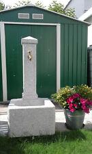 Granit Gartenbrunnen grau -sehr gut erhalten