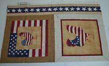 Vintage - Yankee Doodle Doo Pillow Panel Fabric