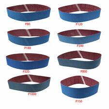 """8pcs/set 4"""" x 36"""" Aluminium Oxide Sanding Paper Belts 80-1000 Grit"""