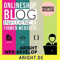 Wordpress Woocommerce Installation Onlineshop Internetseite Homepage inkl.DSGVO