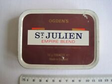 Vintage Tobacco Tin St Julien #1