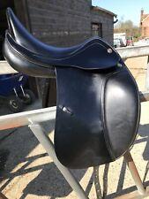 Prestige D1 Black Dressage Saddle. Barely Used As Lost Horse. Medium 17'.