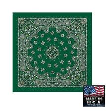 Bufandas y pañuelos de mujer verdes de 100% algodón