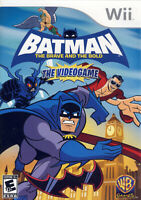 Batman - The Brave and the Bold New Nintendo WII