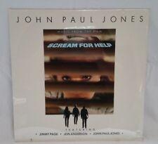 John Paul Jones Led Zeppelin Atlantic 80190-1 Scream For Help Sealed LP Record