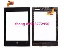 Touch Panel Screen Digitizer Glass Lens For Nokia Lumia 520 N520 With Frame zha8