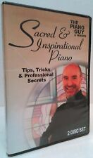 NEW ~ Sacred & Inspirational Piano DVD - Tips, Cheap Tricks, and Secrets