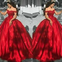 prachtvolles Hochzeitskleid Brautkleid Kleid für Braut Ballkleid 34-48 BC883