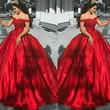 Espléndido vestido de novia vestido de novia vestido para novia vestido de baile 34-48 bc883