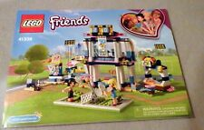 Lego FRIENDS Manual Only NEW (from set) #41338 Stephanie's Sports Arena