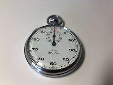 Rare NERO LEMANIA Sport Chrono Vintage Stopwatch 1 31/32in diameter not Works