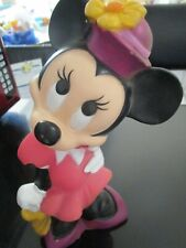 New listing Disney Minnie Mouse Plastic Bank by Illco Toy