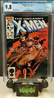 UNCANNY X-MEN #212 CGC 9.8 1986 CLAREMONT CLASSIC WOLVERINE VS SABERTOOT  NM/MT