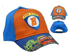 Nickelodeon Blaze & The Monster Machines Baseball Cap; Blue/Orange; Age 2-4