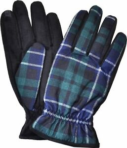 Isotoner Signature Men's THERMAflex SmarTouch Tech Gloves; Plaid; Med or XL