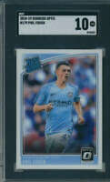 2018 Donruss Optic Phil Foden Rookie #179 Manchester City SGC 10