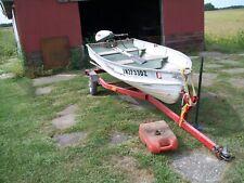 New listing 12' Fishing Boat, Trailer, Motor