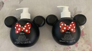 Minnie Mouse Primark Liquid Hand Soap Dispenser X 2
