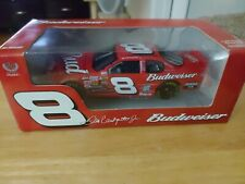 2005 Action Dale Earnhardt Jr #8 Budweiser 1/24 Scale NASCAR Die Cast Rare NEW
