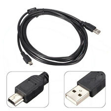 1.5M Long MINI USB Cable Sync & Charge Lead Type A to 5 Pin B Phone Charger