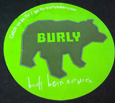 Burly Bear Network Promotional Sticker