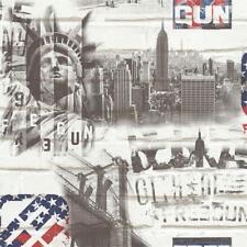 51170809 - City Life New York Monochrome Galerie Wallpaper