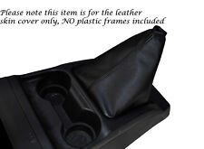 BLACK STITCH LEATHER GEAR GAITER FITS GREAT WALL STEED 2010-2014