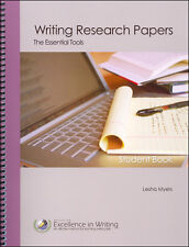 IEW - Writing Research Papers: The Essential Tools Student Book