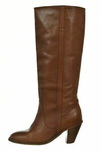 KG by Kurt Geiger Womens Shoes Size 41 9.5 Brown Knee High Chelsea Boot Leather