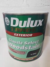 Dulux Trade Exterior ICI Classic Select Woodstain - ICI Ebony - 2.5L - Oil Based