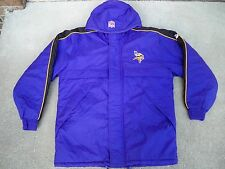 Vintage Minnesota Vikings NFL PUMA Football Parka Jacket Coat Men's Size Medium