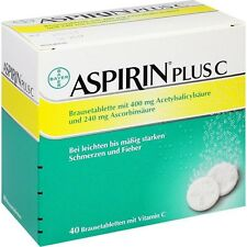 ASPIRIN Plus C Brausetabletten   40 st     PZN3464237