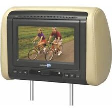 "VOXX, MOVIES TO GO, 7"" HEADREST MONITOR INCLUDES GRAY, BLACK & TAN COVERS"