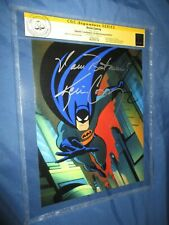 BATMAN: ANIMATED SERIES CGC SS Signed Movie Photo/Still by KEVIN CONROY Voice of