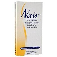 Nair 16 WAX STRIPS Waxing Facial Hair Removal x 1 Camomile