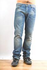 "Lee ""ZED"" Mens Blue Skinny Leg Denim Stretch Jeans Slim Faded Flared W31 L34"
