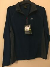 Navy/grey trespass airtrap fleece size XS mens