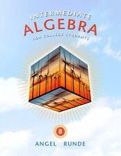 Intermediate Algebra for College Students by Allen R. Angel and Dennis Runde (20